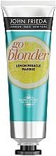 Perfumería y cosmética Mascarilla aclarante con limón - John Frieda Sheer Blonde Go Blonder Lemon Miracle