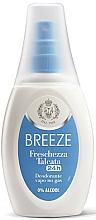 Perfumería y cosmética Breeze Deo 24h Vapo - Desodorante spray sin gas ni alcohol, aroma a talco