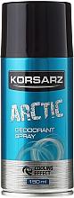Perfumería y cosmética Desodorante spray - Pharma CF Korsarz Arctic Deodorant