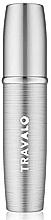 Perfumería y cosmética Atomizador recargable, vacío, color plata - Travalo Lux Silver Refillable Spray