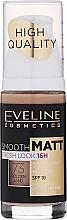 Perfumería y cosmética Base de maquillaje matificante de larga duración - Eveline Cosmetics Smooth Matt SPF10