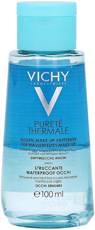Desmaquillante hipoalergénico para pieles sensibles - Vichy Purete Thermale Struccante Waterproof Occhi Sensibili — imagen N2