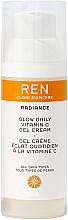 Perfumería y cosmética Crema facial en gel con vitamina C, magnesio, aceite de flor de naranjo y extracto de romero - Ren Radiance Glow Daily Vitamin C Gel Cream Moisturizer