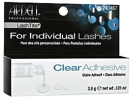 Perfumería y cosmética Pegamento profesional para pestañas postizas individuales, resistente al agua - Ardell Lashtite Adhesive Clear