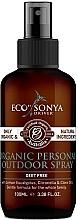 Perfumería y cosmética Spray corporal con aceite de eucalipto, citronela y clavo - Eco by Sonya Citronella Personal Outdoor Spray