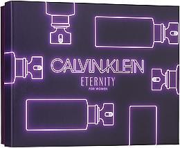 Perfumería y cosmética Calvin Klein Eternity For Woman - Set (eau de parfum/100ml + eau de parfum/mini/10ml + loción corporal/100ml)