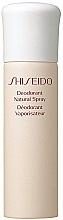 Desodorante spray - Shiseido Deodorant Natural Spray  — imagen N1
