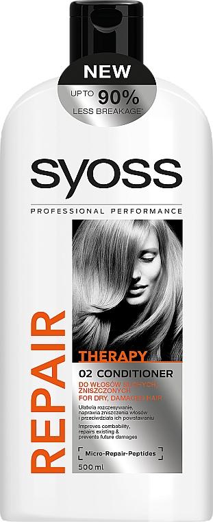 Acondicionador reparador con péptidos - Syoss Repair Therapy — imagen N1