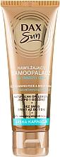 Perfumería y cosmética Autobronceador para rostro y cuerpo - DAX Sun Extra Bronze Self-Tanning Cream