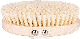 Perfumería y cosmética Cepillo de baño y masaje corporal con fibra de cactus suave, marrón claro - Miamed