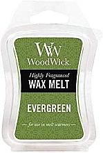 Perfumería y cosmética Cera para lámparas aromáticas, hojas perennes - WoodWick Wax Melt Evergreen