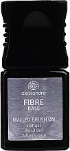 Perfumería y cosmética Base coat de fibra de vidrio, UV/LED - Alessandro International UV/LED Brush On Fiber Base