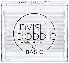 Perfumería y cosmética Set de gomas de pelo - Invisibobble Basic Crystal Clear