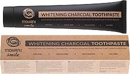 Perfumería y cosmética Pasta dental blanqueadora con carbón y coco - Mohani Smile Whitening Charcoal Toothpaste