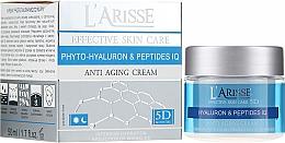 Perfumería y cosmética Crema facial antiedad con ácido hialurónico y péptidos - Ava Laboratorium L'Arisse 5D Anti-Wrinkle Cream Phytohyaluron + Peptides