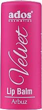 Perfumería y cosmética Bálsamo labial con sabor a grosella negra - Ados Cosmetics Velvet Lip Balm