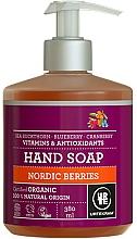 Perfumería y cosmética Jabón de manos líquido con vitaminas, aroma frutal - Urtekram Nordic Berries Hand Soap