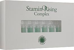 Perfumería y cosmética Complejo fitoesencial anticaída de cabello con cafeína y aceite de menta en ampollas - Orising StaminORising Complex
