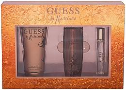 Perfumería y cosmética Guess by Marciano - Set (eau de toilette/100ml + loción corporal/200ml + eau de toilette mini/15ml)