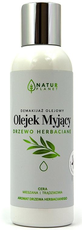 Aceite facial desmaquillante con árbol de té para pieles mixtas y problemáticas - Natur Planet Washing Oil Tea Tree