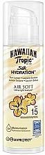 Perfumería y cosmética Loción protectora solar - Hawaiian Tropic Silk Air Soft Sun Lotion SPF 15