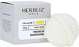 Perfumería y cosmética Bomba de baño 100% natural con aceite de ylang-ylang - Herbliz CBD