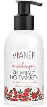 Perfumería y cosmética Gel limpiador revitalizante para rostro con ácido glicólico - Vianek Revitalizing Gel
