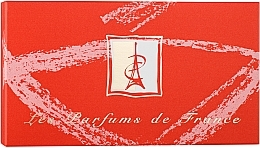 Perfumería y cosmética Charrier Parfums Top Ten - Set eau de parfum, mini (edp/5.2ml + edp/5.5ml + edp/5.5ml + edp/2.8ml + edp/5ml + edp/5.6ml + edp/5ml + edp/4.6ml + edp/5ml + edp/4.9ml)