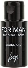Perfumería y cosmética Bálsamo para barba - Vitality's For Man Beard Oil