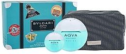 Perfumería y cosmética Bvlgari Aqva Pour Homme Marine - Set (eau de toilette/100ml + eau de toilette/mini/15ml + neceser)