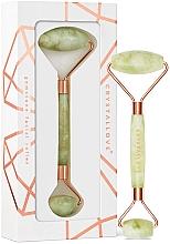 Perfumería y cosmética Rodillo de nefrita verde para masaje facial - Cristallove Jade Roller