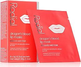 Perfumería y cosmética Mascarilla hidratante de parches para contorno de labios con extracto de sangre de dragón - Rodial Dragon's Blood Lip Masks