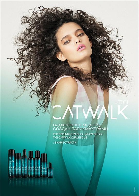 Crema fijadora para cabello rizado con aceite de jojoba - Tigi Catwalk Curl Collection Curlesque Curls Rock Amplifier — imagen N3