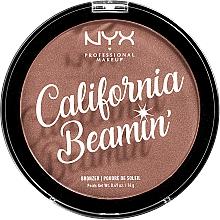 Perfumería y cosmética Polvo bronceador para rostro y cuerpo - NYX Professional California Beamin Face & Body Bronzer