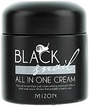 Perfumería y cosmética Crema facial con extracto de baba de caracol negro y niacinamidas - Mizon Black Snail All In One Cream