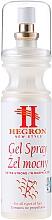 Perfumería y cosmética Gel spray para cabello de fijación extra fuerte - Tenex Hegron Gel Spray Extra Strong