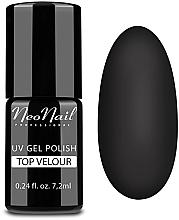 Perfumería y cosmética Top coat mate, efecto terciopelo, UV - NeoNail Professional Top Matte Velour Uv Gel Polish