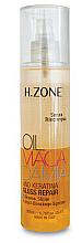 Perfumería y cosmética Aceite de macadamia y queratina antirotura en spray - H.Zone Macadamia-Gloss Repair