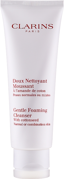 Espuma limpiadora con semilla de algodón - Clarins Gentle Foaming Cleanser with Cottonseed — imagen N2