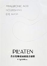 Perfumería y cosmética Mascarilla nutritiva para contorno de ojos con ácido hialurónico - Pilaten Hyaluronic Acid Nourishing Eye Mask