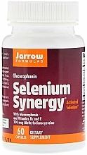 Perfumería y cosmética Complemento alimenticio en cápsulas de selenio, 60 cáp. - Jarrow Formulas Selenium Synergy