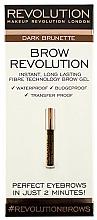 Perfumería y cosmética Gel fijador para cejas resistente al agua - Makeup Revolution Brow Revolution Brow Gel