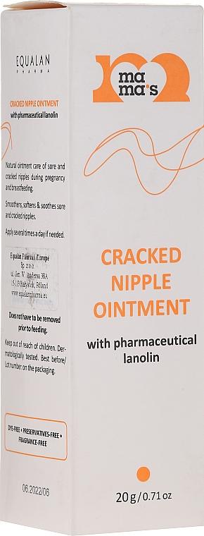 Pomada de pecho con lanolina - Mama's Cracked Nipple Ointment With Pharmaceutical Grade Lanolin