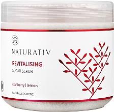 Perfumería y cosmética Exfoliante corporal de azúcar con arándano y aceite de limón - Naturativ Revitalising Body Sugar Scrub