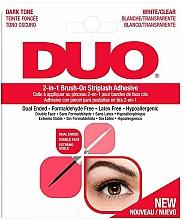 Perfumería y cosmética Pegamento hipoalergénico con pincel para pestañas postizas - Ardell Duo Adhesive 2in1 Lash Brush On Clear&Dark