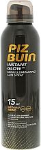 Perfumería y cosmética Spray protector solar con sutil reflejo de tono dorado SPF 15 - Piz Buin Instant Glow Skin Illuminating Sun Spray SPF15