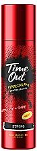 Perfumería y cosmética Laca para cabello con provitamina B5, fijación fuerte - Time Out Hairspray Strong