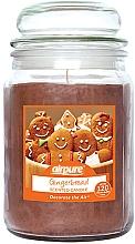 Perfumería y cosmética Vela perfumada en tarro con aroma a pan de gengibre - Airpure Jar Scented Candle Gingerbread