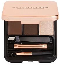 Perfumería y cosmética Kit de esculpido de cejas con espejo - Makeup Revolution Brow Sculpt Kit