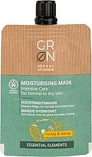 Perfumería y cosmética Mascarilla facial hidratante con miel & cáñamo - GRN Essential Elements Honey & Hemp Cream Mask
